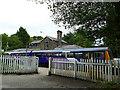 SJ5570 : Train at Delamere station by Stephen Craven