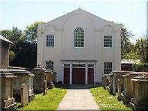 TL5646 : United Reformed church [1] by Michael Dibb