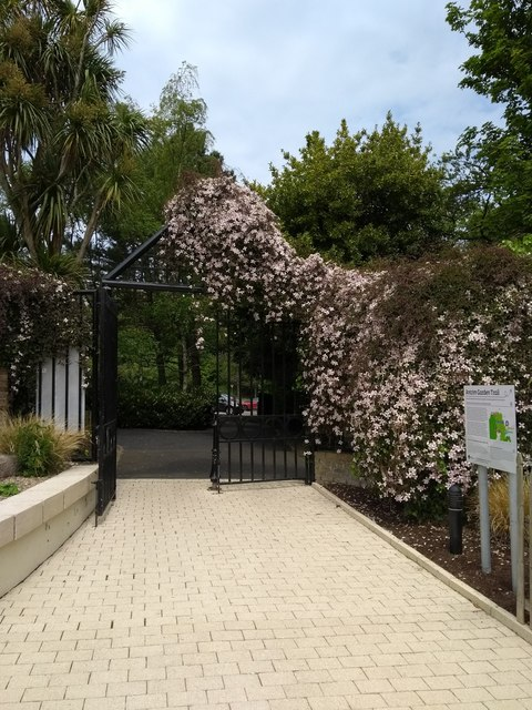 Entrance gate at Carnfunnock Country Park