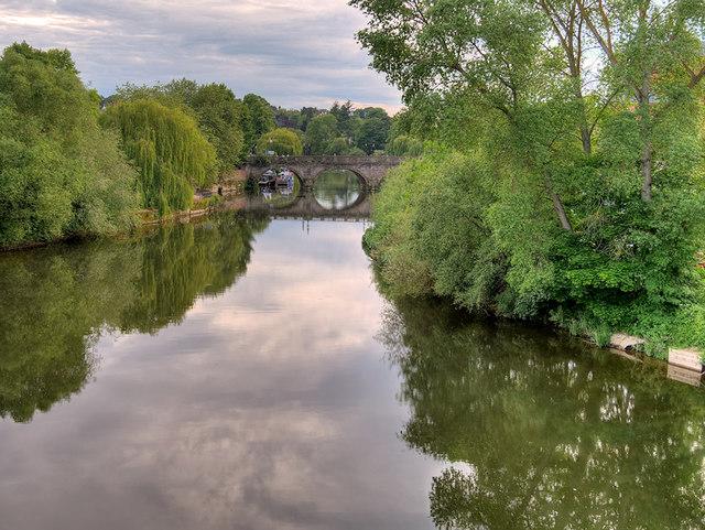 River Severn at Frankwell