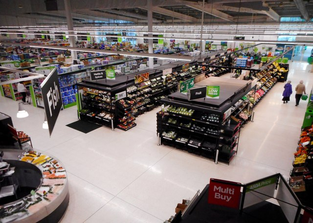 Inside Asda Bearsden