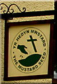 SN5748 : Yr Hedyn Mwstard/The Mustard Seed name sign, Lampeter by Jaggery