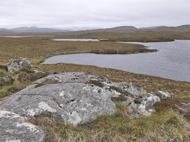 Rock slab, Dromannan Easa Ghil, Isle of Lewis