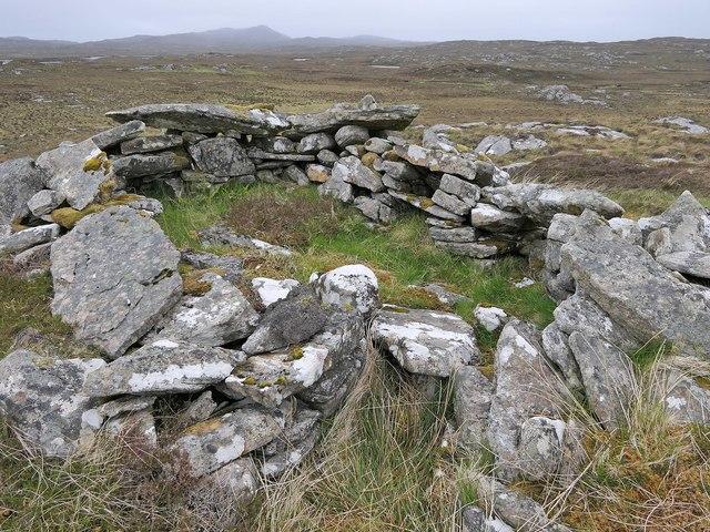 Shieling hut, Airigh Bealach na h-Imrich, Isle of Lewis