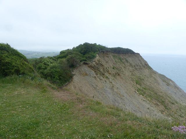 Old Landslip on West Cliff