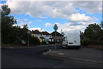 TQ0999 : Courtlands Drive at the junction of Fairview Drive by David Howard