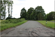 SP6229 : Single track road to Chetwode by David Howard