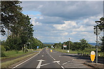 SP7516 : Staggered junction on the A41, Waddesdon by David Howard