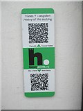 SH6266 : HiPoints information QR code at The Llangollen, Bethesda by Meirion