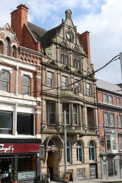 Alexandra House, 26 and 28 Market Street, Nottingham