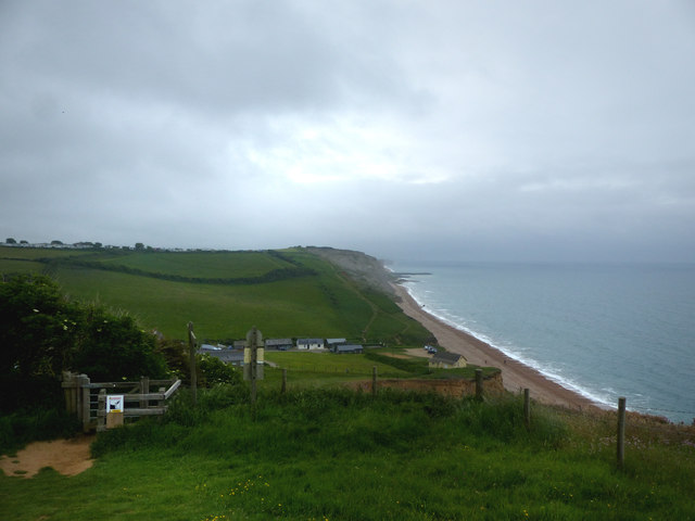 Eype Mouth and coast path