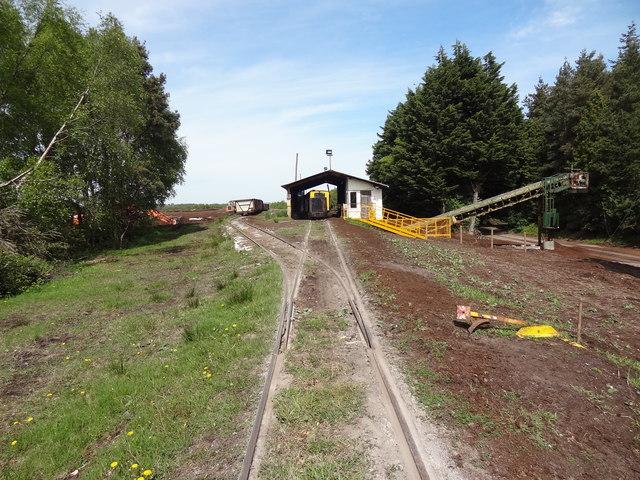 Peat Unloading Station