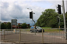 SP7032 : Junction on the A421, Buckingham by David Howard