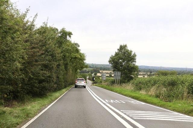 Descending Broughton Hill