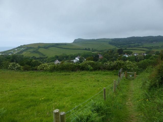 Footpath to Lower Eype
