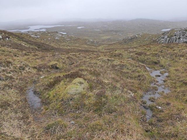 Source of the Allt Bealach na h-Imrich, Isle of Lewis