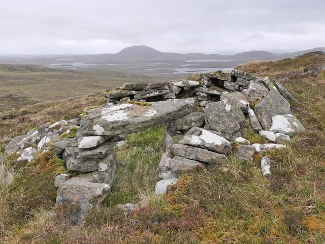 Shieling hut, Gearraidh a' Sgurain, Isle of Lewis