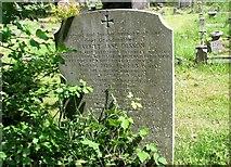 TG2408 : The gravestone of Harriet Jane Olsson by Evelyn Simak