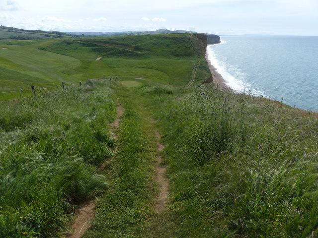 Coast Path East Cliff