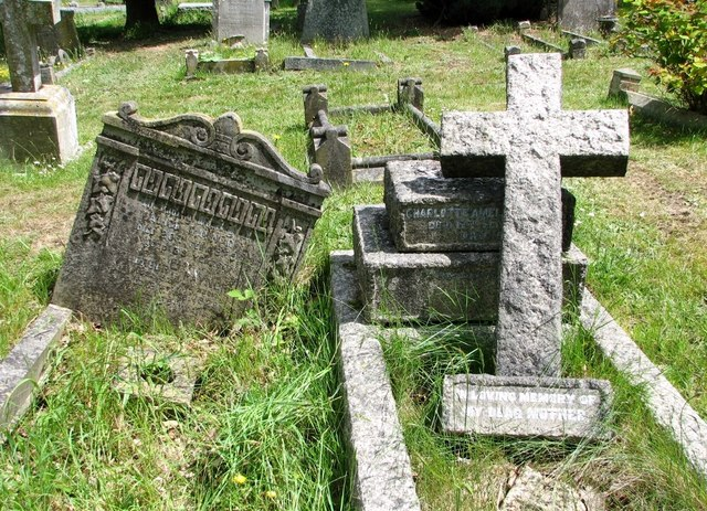 The grave of Alice and Herbert Rayner