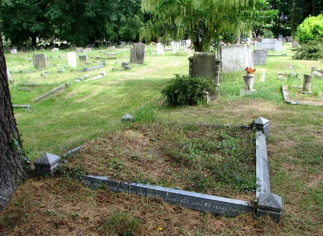 Graves in Section P