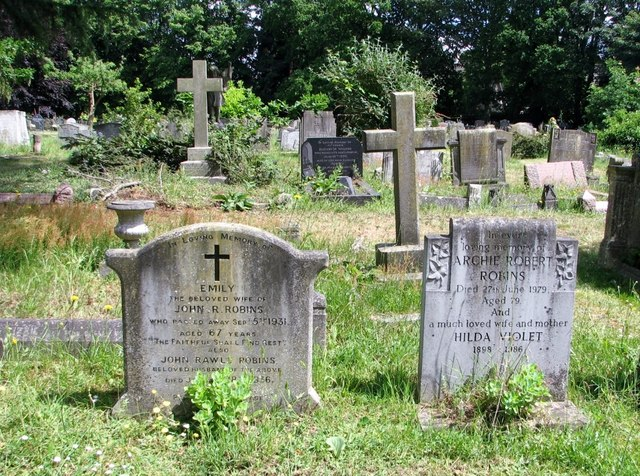 Graves of the Robins Family