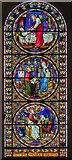TG2308 : Saint Luke's Chapel window, Norwich Cathedral by Julian P Guffogg