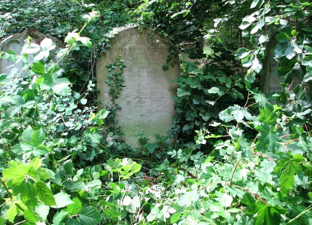 The grave of Martha Emma Fielding