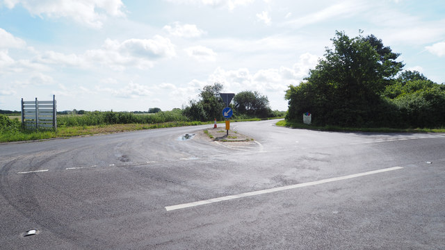 Junction of B1111 and A1075