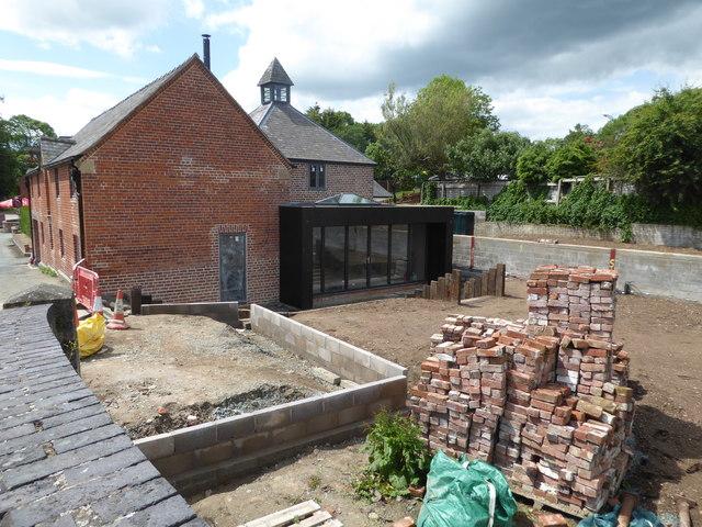 Property development in Garthmyl