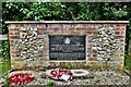 TF9421 : Brisley: Memorial to the crew of crashed Blenheim bomber V5455 by Michael Garlick