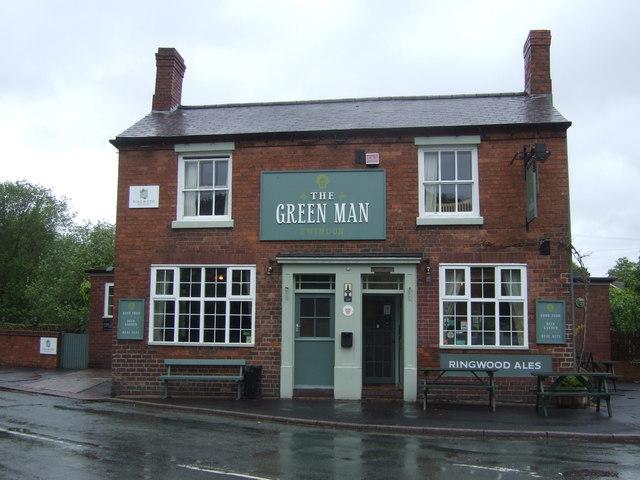 The Green Man Inn, Swindon, Staffordshire