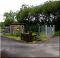 SN5847 : Cwmann Sewage Pumping Station, Carmarthenshire by Jaggery