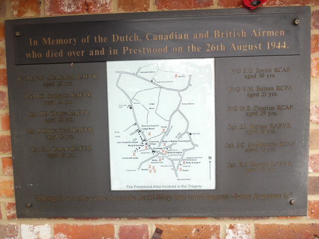 War Memorial Plaque at Hildreths Garden Centre