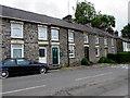 SN5847 : Railway Terrace houses, Cwmann, Carmarthenshire by Jaggery