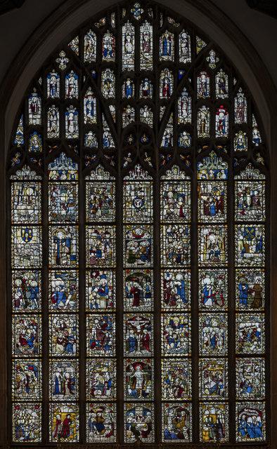 East window, St Peter Mancroft church, Norwich