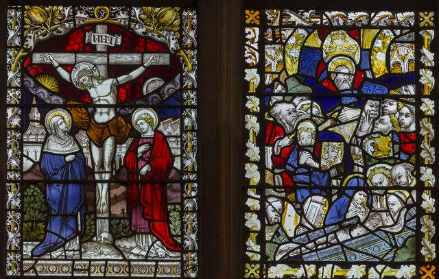 East window detail, St Peter Mancroft church, Norwich