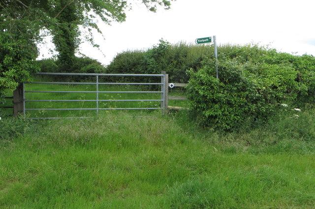 Footpath to Lichborough