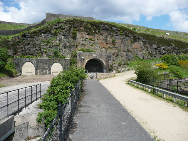 The Woodhead tunnel portals