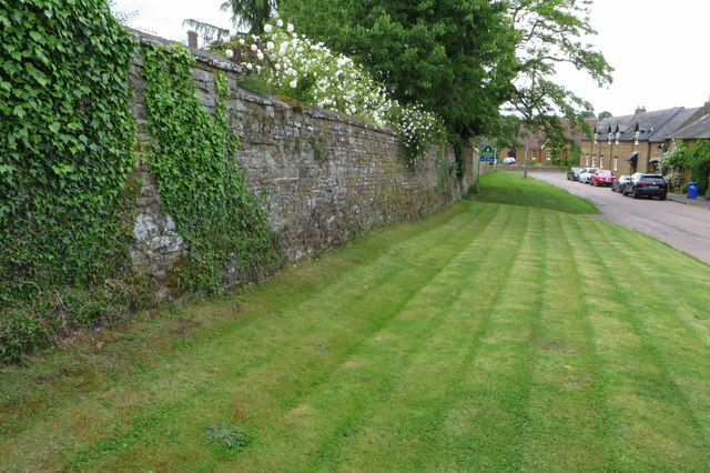 Old rectory wall on Towcester Road
