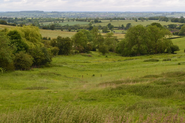 Valley view north of Gayton