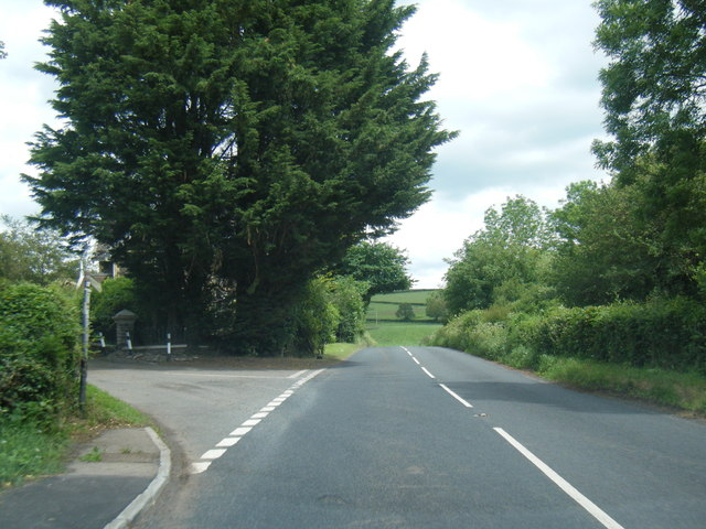 Old Ross Road at Llanddewi Skirrid
