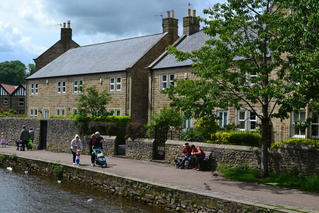 On the river at Bakewell