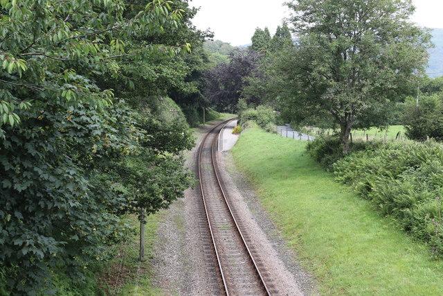 Newby Bridge Halt railway station