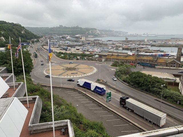 The A20 in Dover