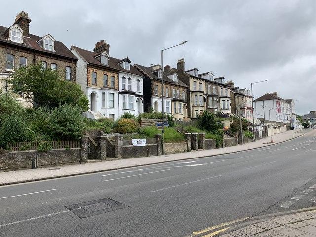 Houses on Folkestone Road