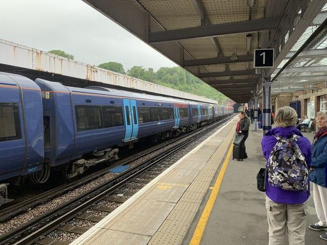 Platform 1 at Dover Priory