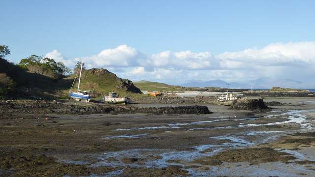 Old harbour at Galmisdale, Isle of Eigg