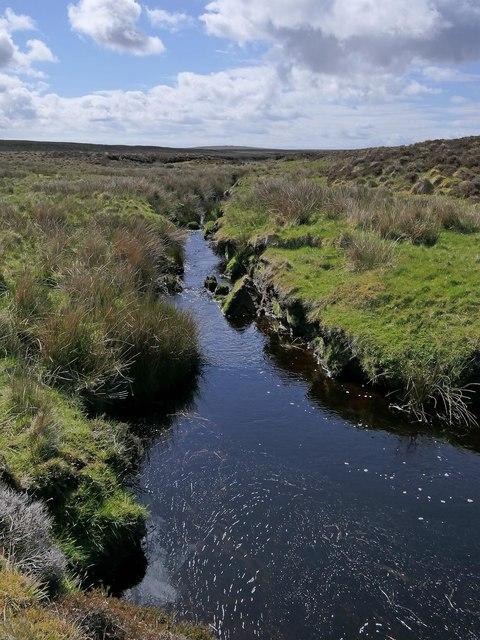 The Abhainn Ghabhsainn bho Dheas, Isle of Lewis