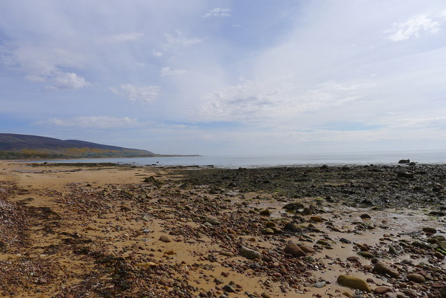 The beach near Cinn Trolla